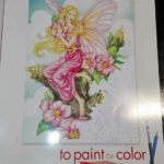 Fairies, To paint or to Color