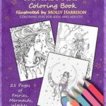 Fantasy Art Coloring Book- Fairies, Mermaids, Dragons and More!