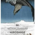 Hiroshige XL STOR, Giant Artist Colouring Book
