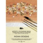 Indian Designs. Artist Colouring Book