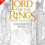 Lord of the Rings, Movie Trilogy Colouring Book