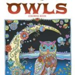 Owls Coloring Book. Creative Heaven