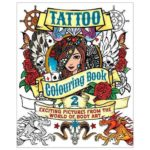 Tattoo Colouring Book 2