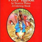 The Tale of Peter Rabbit Coloring Book två