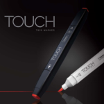 Touch Twin Marker : Touch Twin Brush Marker