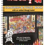 Wasgij? Colouring & Puzzle Book