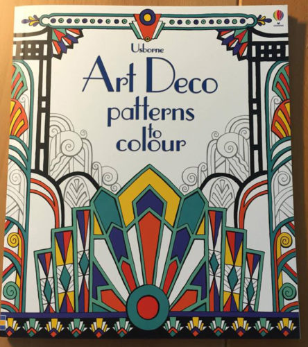 9781409556145 Art Deco Patterns to Colour