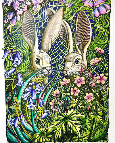 manic-botanic-touch-twin-brush-marker-polychromos-zifflins-coloring-book